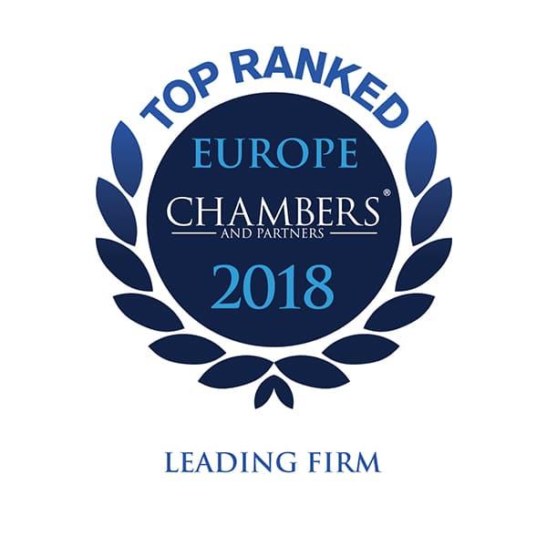 Chambers Europe 2018 logo