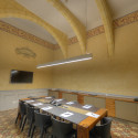 Large Frescoed Boardroom