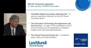 lex mundi token sales panel discussion Max Ganado presentation