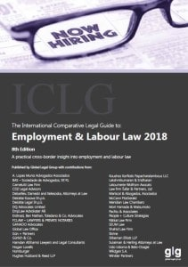 ICLG employment cover